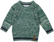 Trui Knitted Green Melee