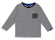 T-Shirt Pocket Stripe Anthracite