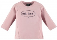 T-Shirt Hello There Pastel Pink
