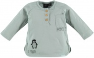 T-Shirt Pinguin Faded Mint