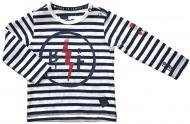 T-Shirt Stripe Offwhite