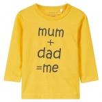 T-Shirt Semme Yolk Yellow
