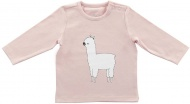 T-Shirt Lama Blush