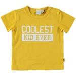 T-Shirt Korte Mouw Coolest Kid Ocre