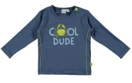 T-Shirt Dude Faded Denim