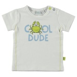 T-Shirt Korte Mouw Dude White