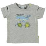 T-Shirt Korte Mouw Whale Grey