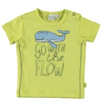 T-Shirt Korte Mouw Flow Wild Lime