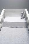 Jollein Melange Knit Soft Grey