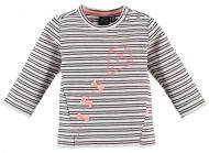 T-Shirt Stripe Creme