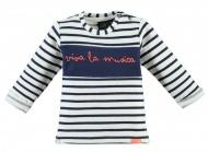 T-Shirt Viva La Musica Indigo