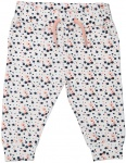 Broek Dots Navy Peach