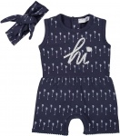 2-Delige Set Jumpsuit Hi Navy