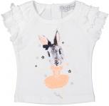 T-Shirt Korte Mouw Bunny White