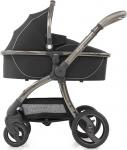 Egg Stroller Shadow Black / Gun Metal Frame Inclusief Bijpassende Reiswieg