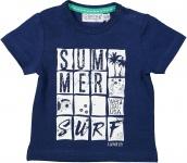 T-Shirt Korte Mouw Summer Indigo Blue