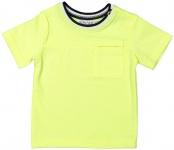 T-Shirt Korte Mouw Neon Yellow