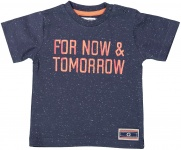 T-Shirt Korte Mouw Tomorrow Navy