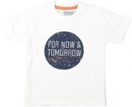 T-Shirt Korte Mouw Tomorrow White