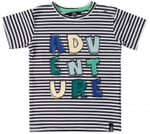 T-Shirt Korte Mouw Adventure Stripes