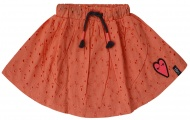 Rok Broderie Coral