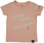 T-Shirt Korte Mouw Miss Light Pink