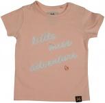 T-Shirt Korte Mouw Miss Light Pink