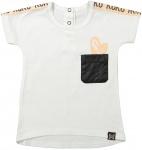 T-Shirt Korte Mouw White