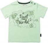 T-Shirt Korte Mouw Travel Mint