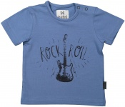 T-Shirt Korte Mouw Rock Denim Blue