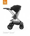 Stokke® Scoot™ Grey Melange Seat Leatherette Handle