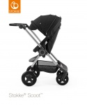 Stokke® Scoot™ Black Seat Leatherette Handle