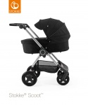 Stokke® Scoot™ Black Seat Leatherette Handle Combi