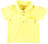 Polo Korte Mouw Neon Yellow
