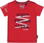 T-Shirt Rhon Korte Mouw Red