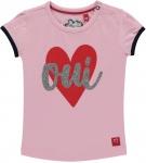 T-Shirt Romana Korte Mouw Rose Pink