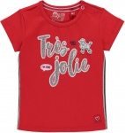 T-Shirt Roma Korte Mouw Rouge Red
