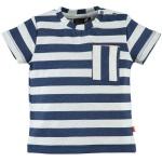 T-Shirt Korte Mouw Stripes Blue