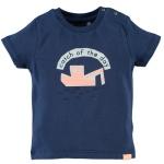 T-Shirt Korte Mouw Boat Blue