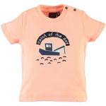 T-Shirt Korte Mouw Boat Orange
