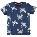T-Shirt Korte Mouw Crab Blue