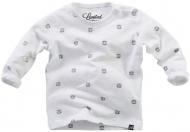 T-Shirt Basje Print White