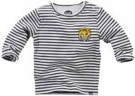T-Shirt Mars Stripe Navy White