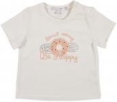 T-Shirt Korte Mouw Donut Offwhite