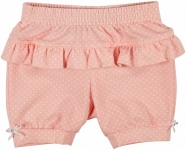 Shorts Ruffle Old Rose