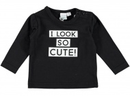 T-Shirt Cute Black