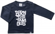 T-Shirt Navy Born To Be