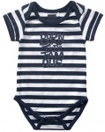 Romper Navy Stripe