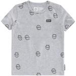 T-Shirt Korte Mouw Amads Grey Melange