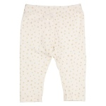Legging Dot Offwhite Gold